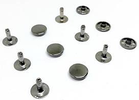 Хольнитен 12 мм темный никель ( в упаковки 1000 штук )
