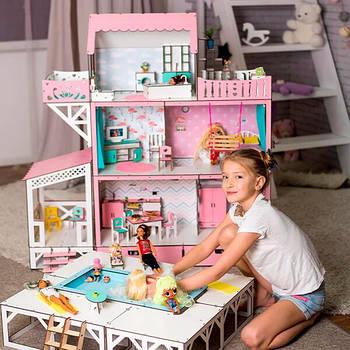 Домики и мебель для Барби