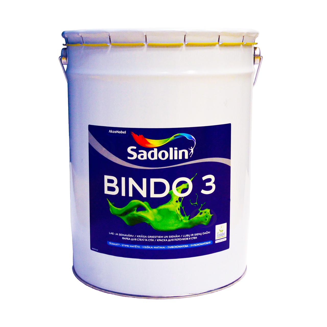 SADOLIN BINDO 3 PROF база BW 20 л