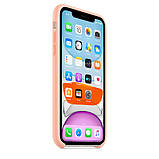 Силиконовый чехол для iPhone 11, цвет «розовый грейпфрут», фото 8