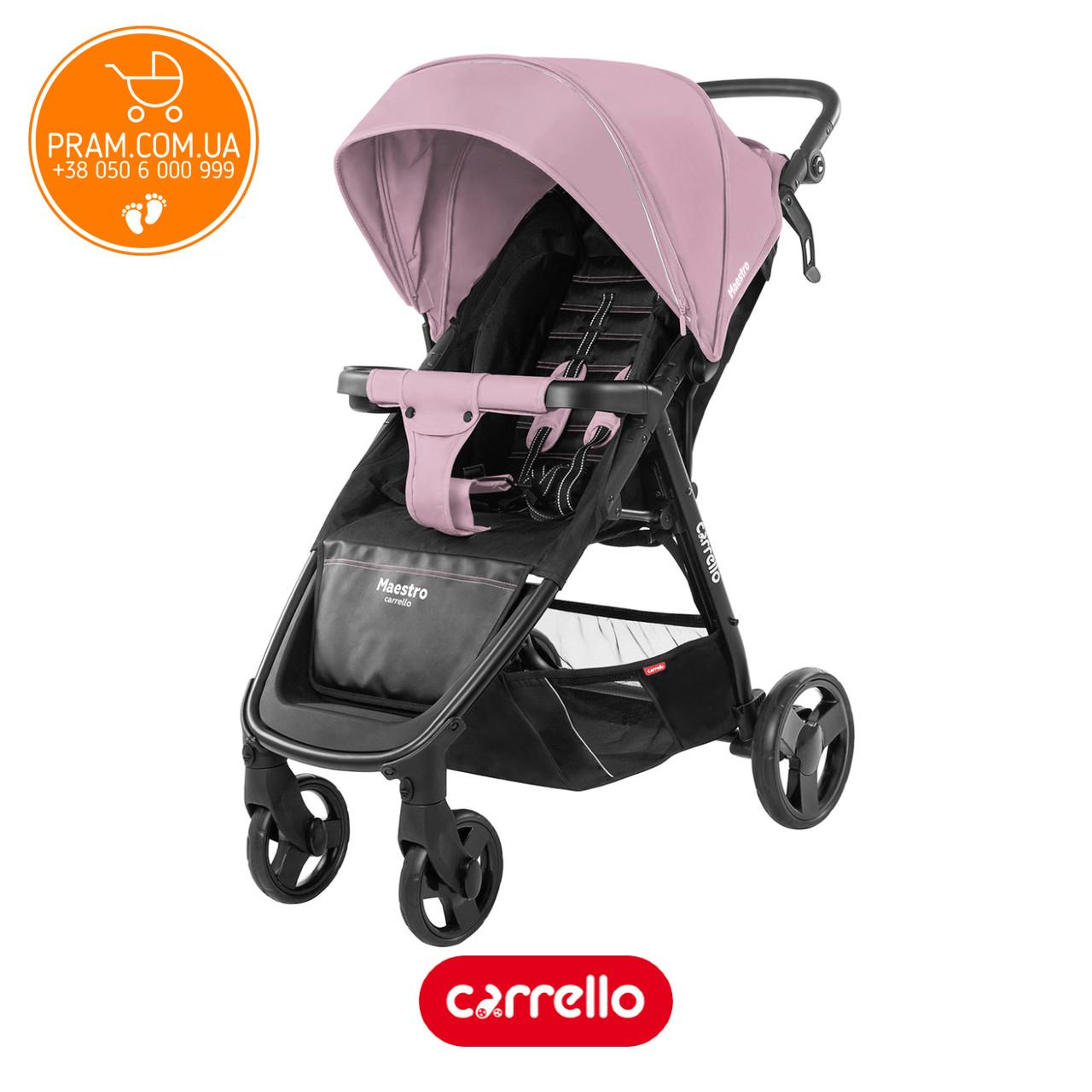 CARRELLO MAESTRO CRL-1414 прогулочная коляска Cloud Pink Розовый