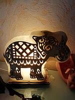 Соляной светильник Слон большой  1