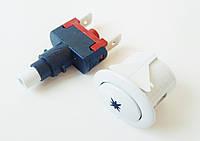 """Кнопка розжига """"Грета """" (""""GRETA"""")(овальная-белая). код сайта:7053, фото 1"""