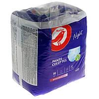 Подгузники-трусы для взрослых Auchan Night L  10 шт.