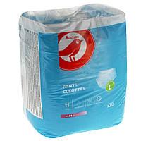 Подгузники-трусы для взрослых Auchan L  10 шт.