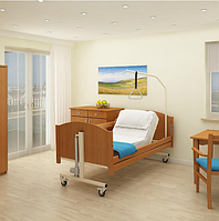 Реабилитационная медицинская кровать Reha-bed TAURUS с металлическими ламелями