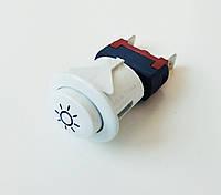 """Кнопка света """"Грета"""" (""""GRETA"""")(овальная - белая) код товара: 7200"""