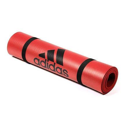 Мат для фитнеса Adidas ADMT-12234OR оранжевый, фото 2