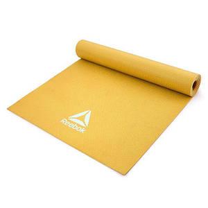 Мат для йоги Reebok RAYG-11022YL жовтий