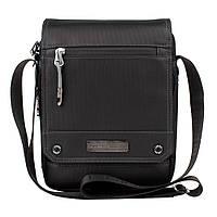Мужская сумка через плечо Leastat черный