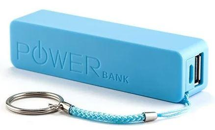 Корпус Павербанк Powerbank на 1 АКБ 18650. синий