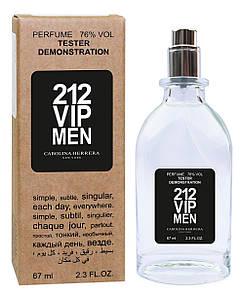 Тестер Carolina Herrera 212 VIP Men (edp 67ml)