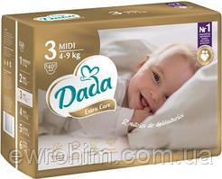 Обновленные подгузники Dada 3 extra care (4-9 кг), 40 шт