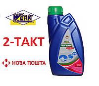 МОТОРНА ОЛИВА WERK 2-TAKT SEMISYNT SAE 20 API TC+, 1Л