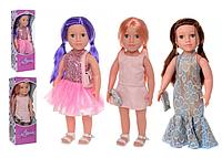 """Игрушка для девочки """"Высокая интерактивная кукла Ника"""" (поет песни, рассказывает стихи) 48 см"""