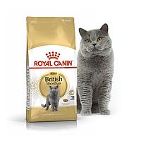 Сухой корм Royal Canin British Shorthair Adult для взрослых кошек породы британская короткошерстная 4 КГ