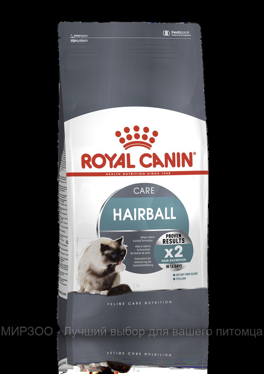 Сухой корм Royal Canin Hairball Care для взрослых кошек 0,4КГ