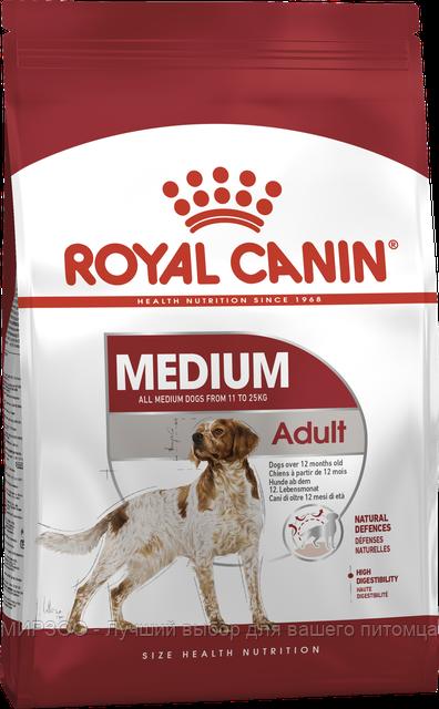 Сухой корм  Royal Canin Medium Adult для взрослых собак средних пород 4 КГ
