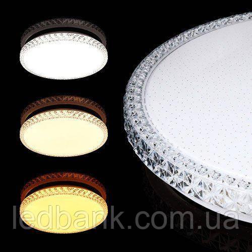 Світлодіодний світильник SMART SML-R08-50 3000-6000K 50Вт Biom з пультом