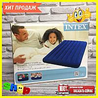 Надувной матрас Intex 68758 (137 х 191 х 22 см)