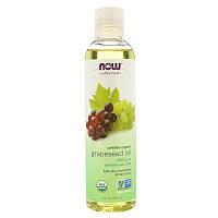 Now Foods, Solutions, Органическое масло из виноградных семечек, 8 унц. (237 мл)