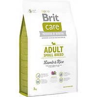 Сухой корм Brit Care Adult Small Breed Lamb для собак мелких пород с ягненком и рисом 3 КГ