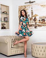 Платье летнее под поясок в расцветках  42797, фото 1