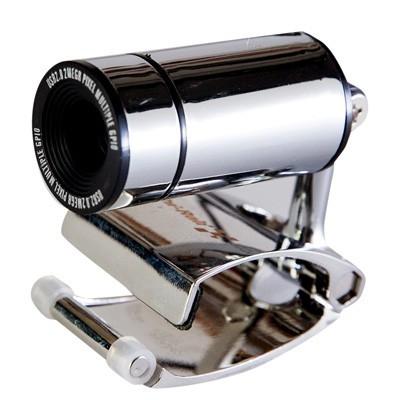 Веб камера с микрофоном Hi-Rali HI-CA008 Black, 1.3 Mpx