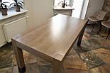 Большой стол из дерева в лофт стиле, фото 3