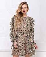 Платье шифоновое в расцветках  42798, фото 1