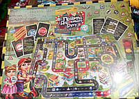 """Гра велика настільна """"Правила дорожнього руху"""" для усієї родини та дітей розвиваюча та навчальна"""