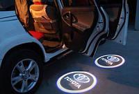 Автомобильная подсветка дверей с логотипом (7W Сree Led)