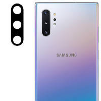 Гибкое защитное стекло 0.18mm на камеру (тех.пак) для Samsung Galaxy Note 10 / Note 10 Plus