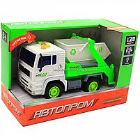 Машинка Автопром Вантажівка. Міська техніка зі світловими і звуковими ефектами (7676ABC), фото 2