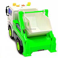 Машинка Автопром Вантажівка. Міська техніка зі світловими і звуковими ефектами (7676ABC), фото 3