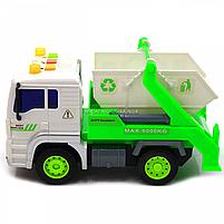 Машинка Автопром Вантажівка. Міська техніка зі світловими і звуковими ефектами (7676ABC), фото 4