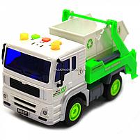 Машинка Автопром Вантажівка. Міська техніка зі світловими і звуковими ефектами (7676ABC), фото 8