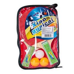 Теннис наст. BT-PPS-0043 ракетки (1,1см,цвет.ручка)+3мяча сумка ш.к./50/