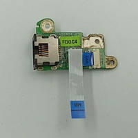 Плата, Lan Port, для ноутбука Packard Bell ZA8, DA0ZA5PC4D0 rev:d, б/в, без пошкоджень.