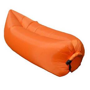 Надувной гамак Lamzac Оранжевый, фото 2