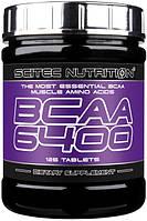 Амінокислоти BCAA SciTec Nutrition BCAA 6400 (125 таб) (103962) Фірмовий товар!