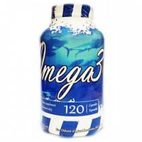 Комплекс незаменимых жирных кислот UNS Omega 3 1000 mg (120 капс)