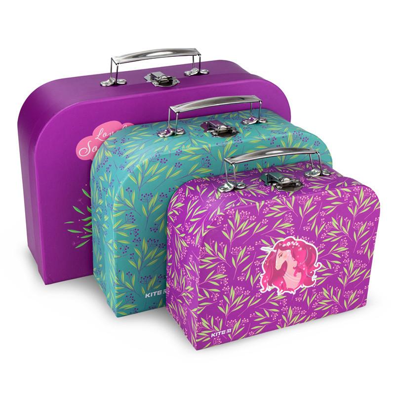 Набор чемоданов Kite Lovely Sophie K20-189,3шт