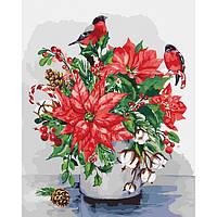 Картины по номерам Краски зимы   40*50   арт. КНО3025