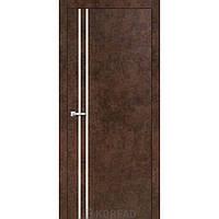 Міжкімнатні двері Korfad ALP-01 арт бетон з молдингом