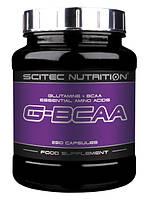 BCAA аминокислоты Scitec Nutrition G-BCAA (250 капс)
