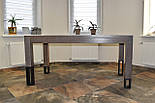 Большой стол из дерева в лофт стиле, фото 4