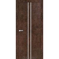 Межкомнатная дверь Korfad ALP-02 арт бетон с молдингом