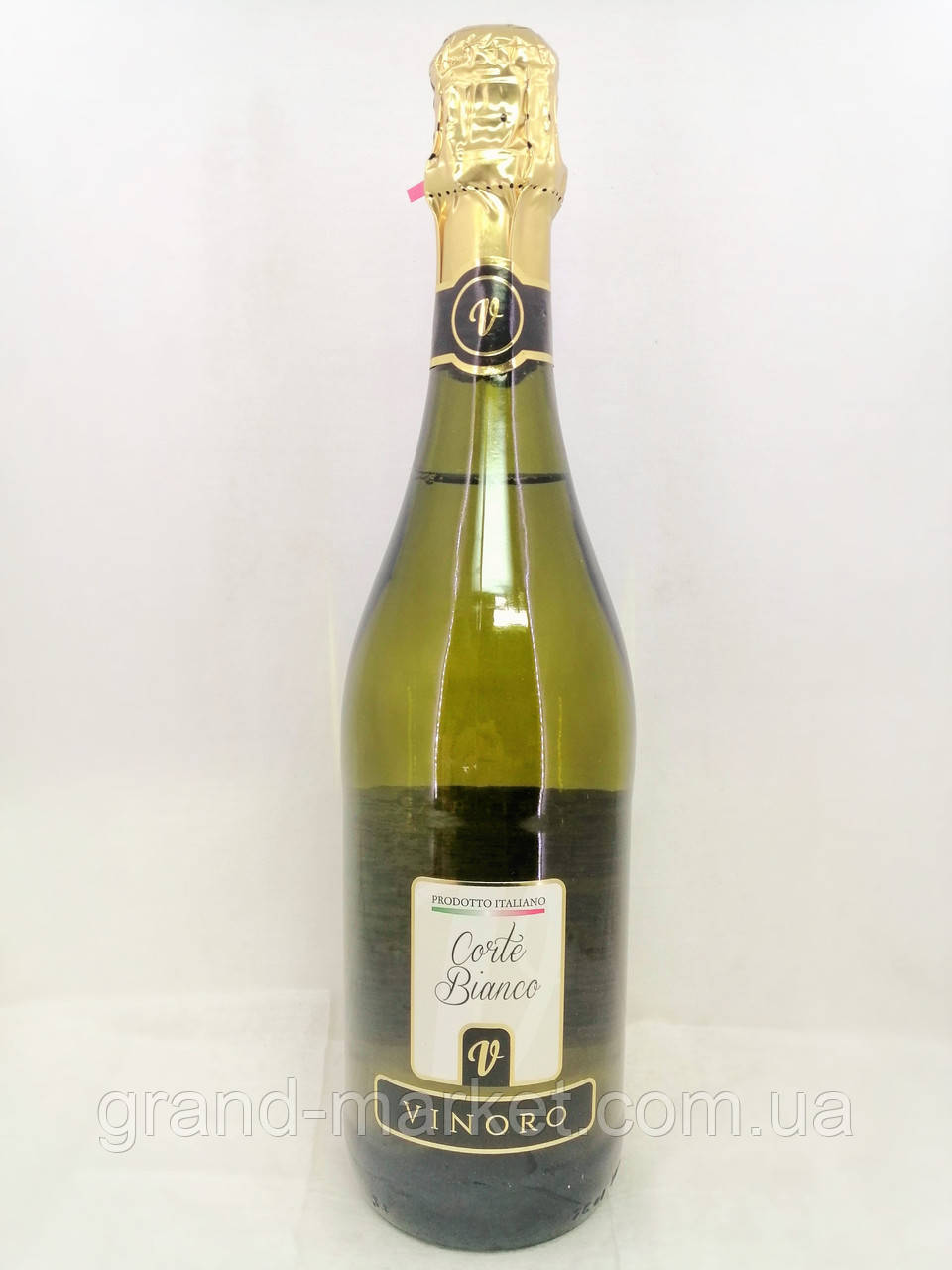 Вино ігристе біле Vinoro Corte Bianco 0.75 л