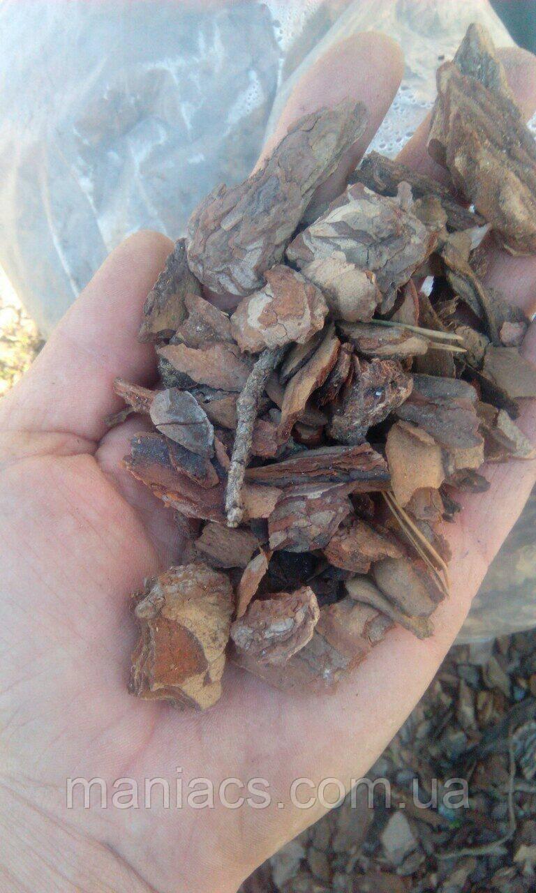Кора соснова в мішках (50 л), фракція 3-5 см